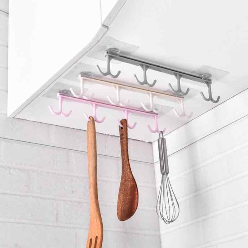 Mutfak depolama rafı Dolap Asılı Kanca Kabine Çok fonksiyonlu Çeşitli Eşyalar Tutucu Ev Banyo Aksesuarları