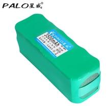 PALO Ni-MH 14.4 V 3500mAh vacuum cleaner sweeping Robot rechargeable battery for X1 / X3 / XL3 / KK-1 / KK-2 KK-3 AGAit EC01 цены