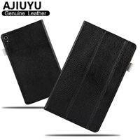 Genuine Leather For Lenovo Tab 3 8 Plus Case Tab3 8 0 Protective Smart Cover Tablet
