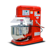220V Professional Automatic Commercial Electric Dough Mixer Egg Beater Bread Milkshake Mixer Food Mixer With English