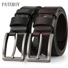 [PATEROY] Men High Quality Genuine Leather Belt