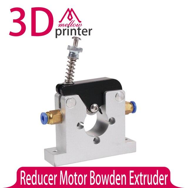 НОВЫЙ!! 3D части принтера DIY Reprap Коссель цельнометаллический редуктор планеты мотор боуден экструдера alimunum сплав для 1.75/3 мм нити