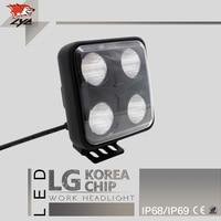 LYC Led Lamp Extra Installation Agricultural Equipment Lighting Headlight Lumens High 3200LM 40W 12V 3000K 6000K