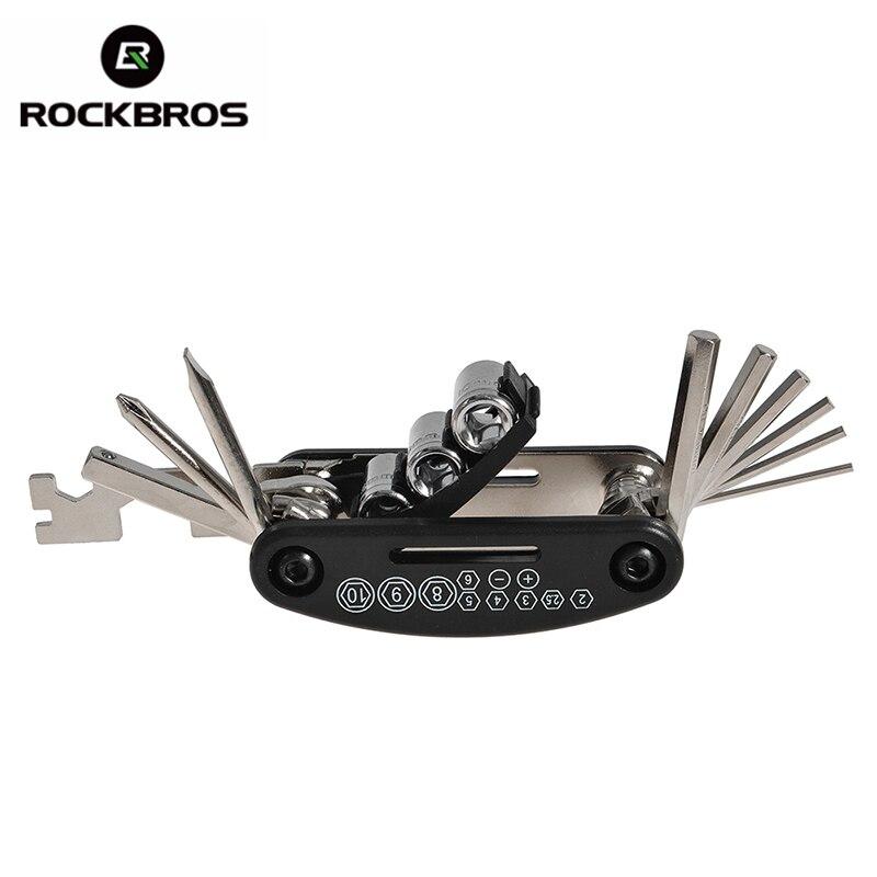 ROCKBROS 16 in 1 Multifunction Bicycle Repair Tools Kit 2