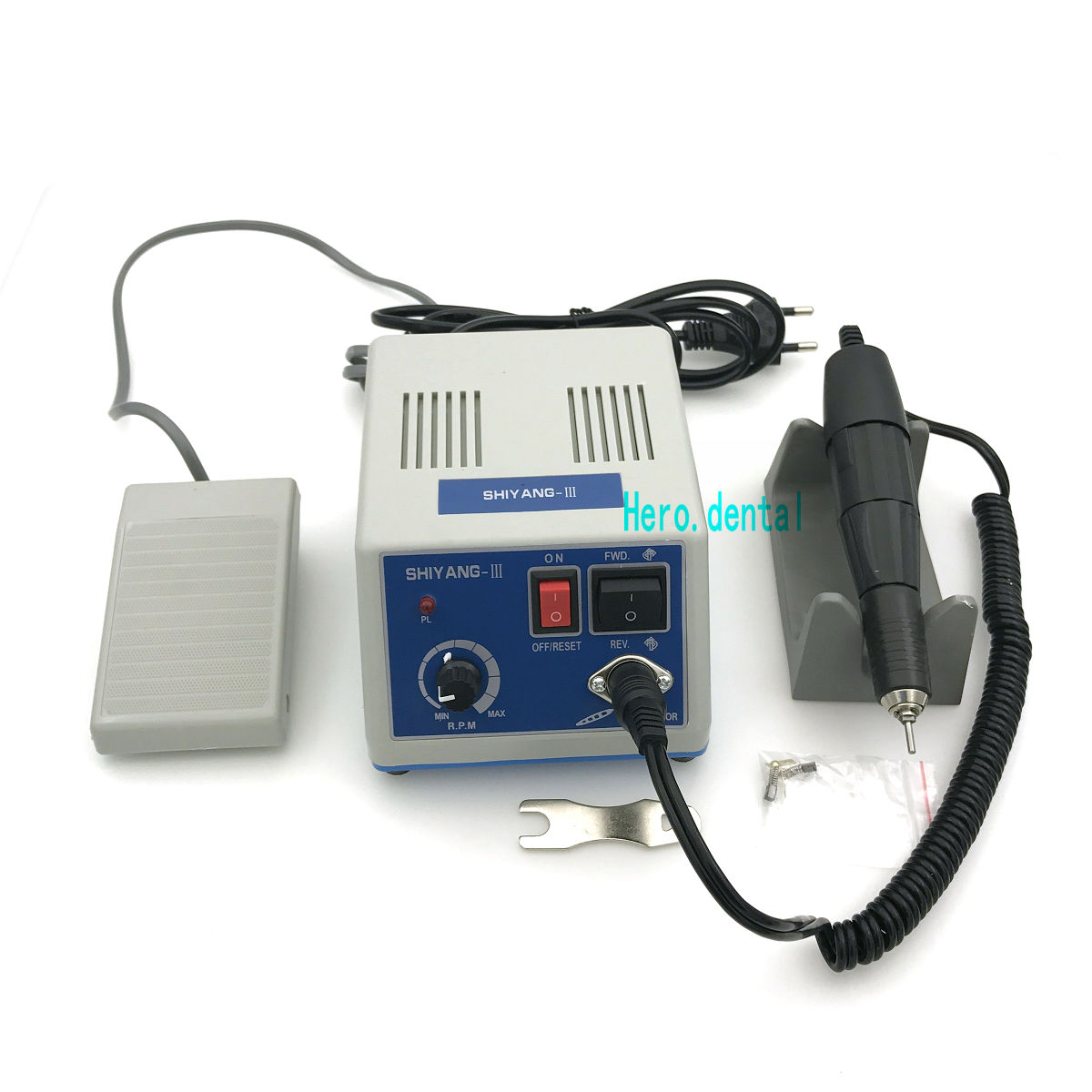 Dental Lab Electric Polishing Micromotor N3 + 35K RPM Motor Handpiece high quality dental finishing and polishing discs polishing strips mandrel set dental supplies resin filling material