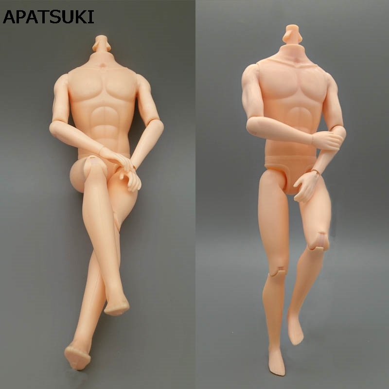 26cm Moveable 11 Jointed Doll Body For Barbie's Boyfriend Ken Male MAN Naked Body Prince Ken Nude Doll DIY Children Toys a toy a dream moveable 14 joints prince nude doll body 1 6 naked man body with head shoes for ken male doll s toys doll gift