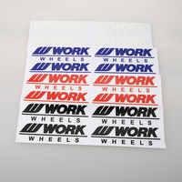 Etiqueta engomada de las llantas de la rueda del coche de las ruedas de diseño de coches etiqueta de las piezas de Moto de carreras de vinilo envoltura de coche Pvc adhesivo Pegatinas para automóviles