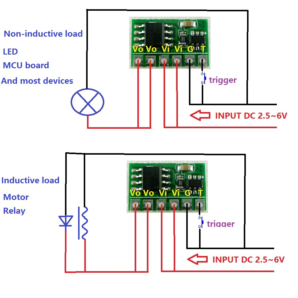 Dr21a01 Dc 5v Dpdt Signal Relay Module Dual Channel Selector Switch Latching Diagram 6a 3v 33v 37v Electronic Latch Bistable Self Locking Trigger