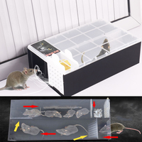Household Mouse Trap Automatic Continuous Mousetrap Reusable Catch High Effect Rat Traps Catcher Rat Killer Mice Rodent Cage
