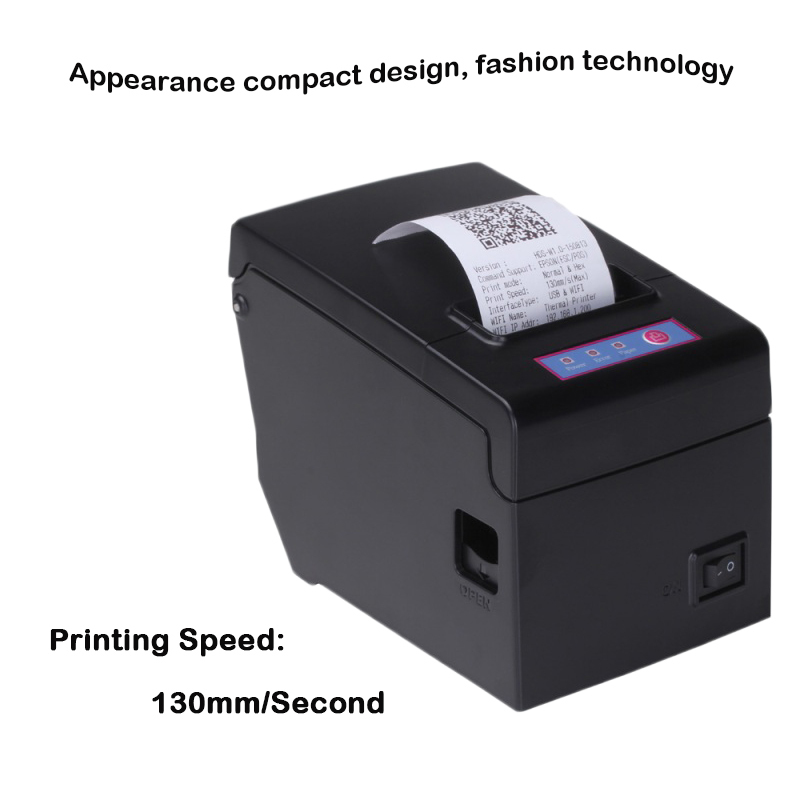 US $55 9 |58mm pos thermal printer usb port receipt impressora with English  driver support win10 esc/pos command restaurant bill printing-in Printers