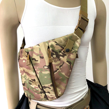Nylon Concealed Shoulder Bag Tactical Military Pistol Gun Holster Pouch Right / Left Hunting 5 Colors