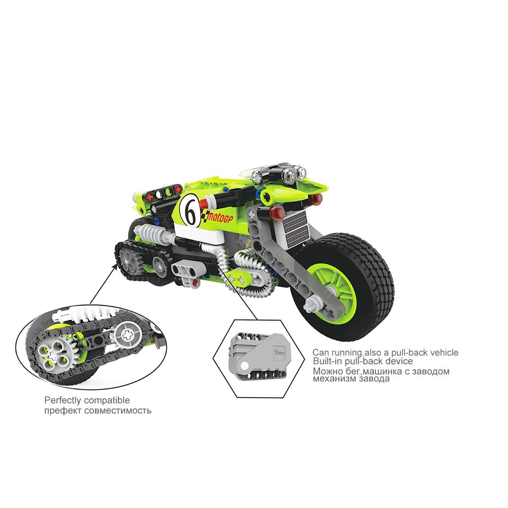 Tehnički motor dječji blok obrazovne igračke za djecu dječaci - Izgradnja igračke - Foto 2