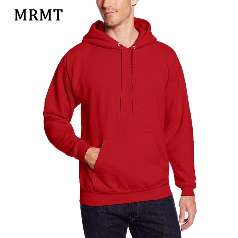 2018 MRMT Brand New Mens Red Hoodies Sweatshirts För Man Slim Pullover Men Hoodie Sweatshirt Clothing Hoody Man