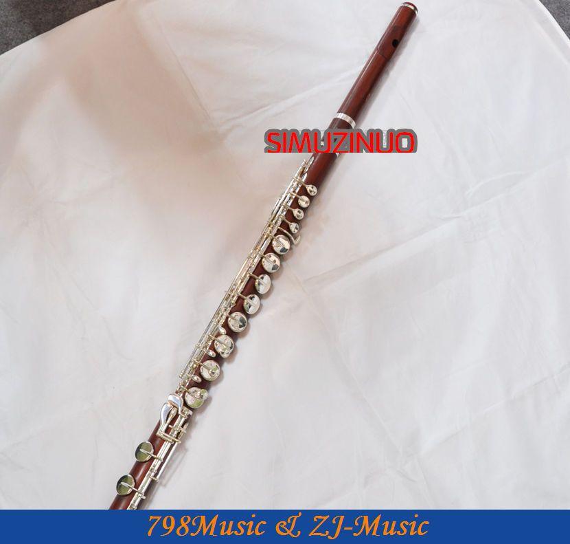ALTO Flute-Perak Disepuh-ROSE WOOD-G - Alat-alat musik - Foto 4