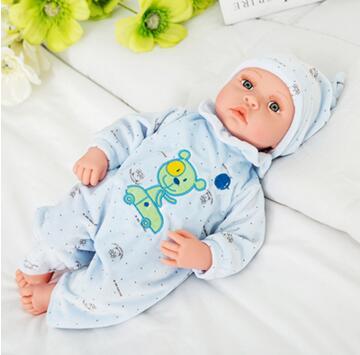 Kids newborn baby toys 40cm talking singing reborn dolls toys for girls toys bebe gift boneca