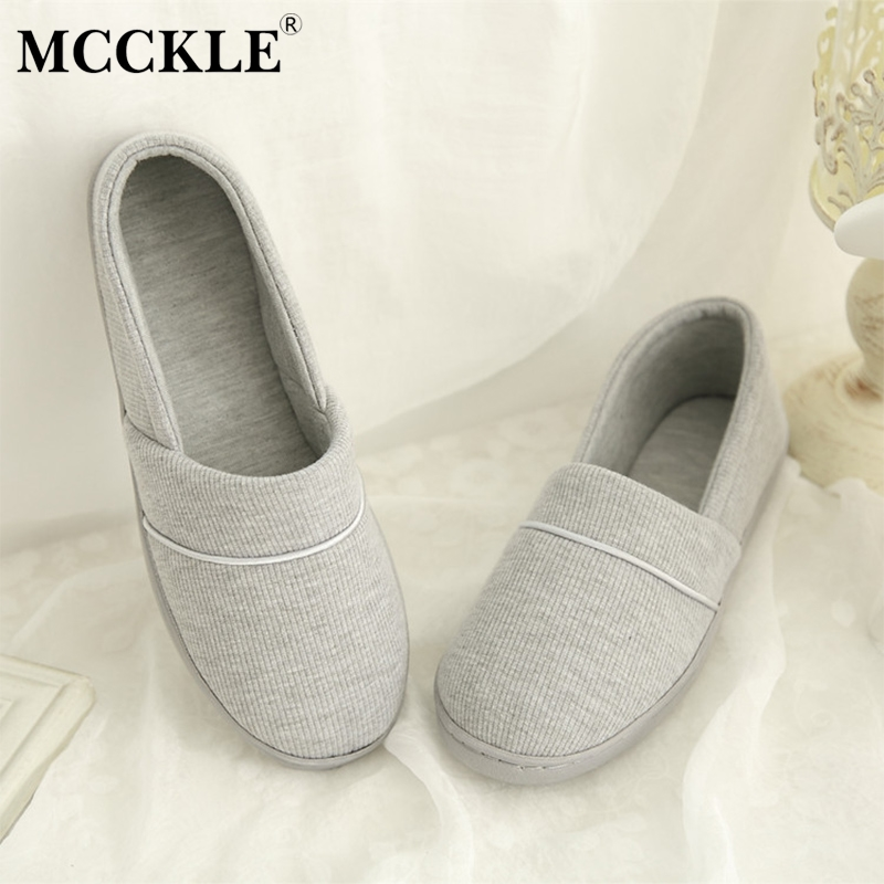 MCCKLE Autumn Women Casual Flat Loafers Plus Size Ladies Shallow Slip On Soft Shoes Female Comfortable Leisure Footwear 2018 mcckle summer casual flats women sneakers plus size cut outs slip on elastic band ladies loafers flock footwear female shoes