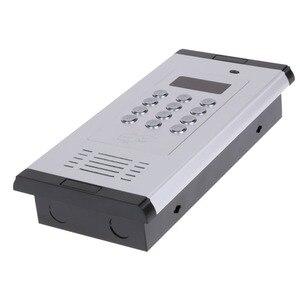 Image 3 - Gsm Afstandsbediening Toegang Systeem Appartement Intercom Deur Poort Open Door Gratis Call Lcd scherm Toetsenbord Ondersteunt 1000 Gebruikers