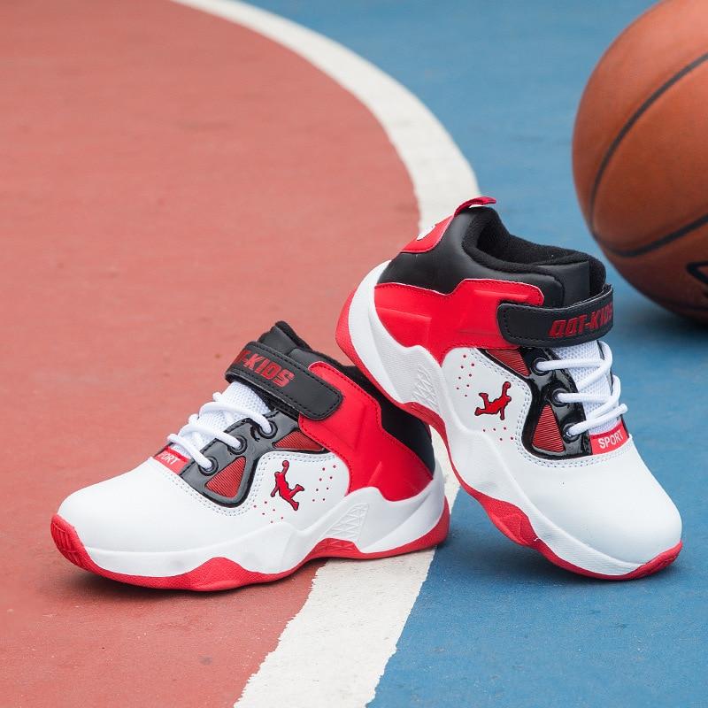 Kids Jogging Basketball Shoes Children