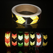 Stickers Safety Reflective-Tape Car-Decoration Automobiles-Safe-Material for 25mmx3m