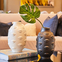 Lips Flower Vase Ceramic Crafts Home Decor Chinese Ceramic Vase For Wedding Decoration