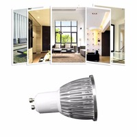 ICOCO 4 x GU10 5W COB High Power LED Dimmable Spot Light Bulbs Warm White/Day White Promotion Sale Wholesale Drop Shipping