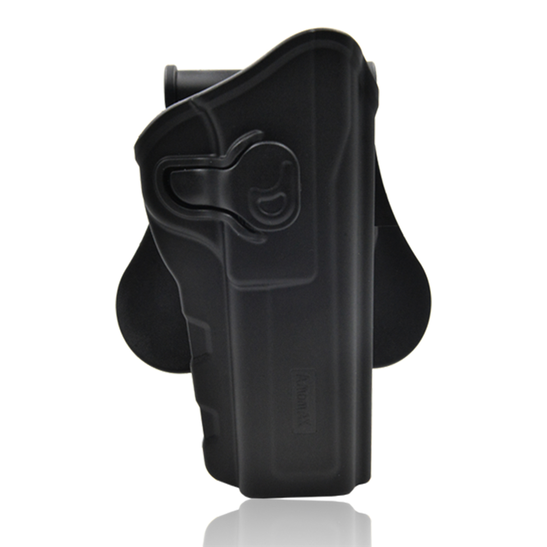 Surwish Adjustable Tactical Holster For Browning Hi Power Outdoors Tactics Accessories - Right-Handed Black