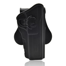 Surwish Adjustable Tactical Holster For Browning Hi Power Outdoors Tactics Accessories - Right-Handed Black(China)