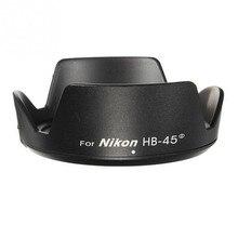 Free 1pcs Camera HB-45 Lens Hood for nikon D3100 D5100 D5200 D3200 18-55mm DX / f/3.5-5.6G VR