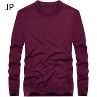 wholesale price winter autumn male wool good quality pullover knitted sweater elasticity full sleeve fashion male underwear