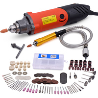 480W Dremel Style Electric Rotary Tool Variable Speed Mini Drill With Flexible Shaft Power Tools Electric