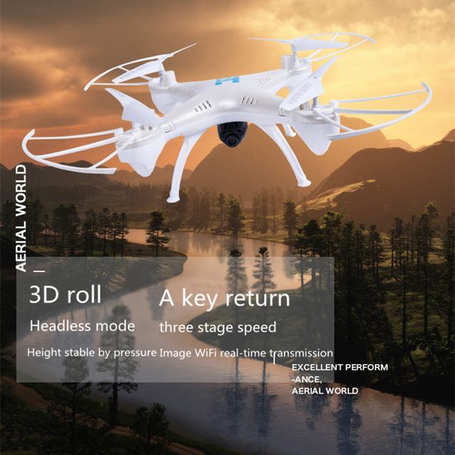 Headless H6 RC Helicopter Mode 2.4G 4CH 6 Axle Quadcopter Remote Control Toys drone with camera hd professional multicopter