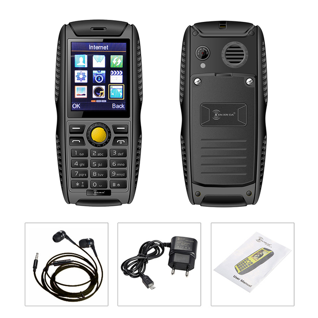 Scratchproof Anti slip rubber Antiseptic shockproof IP68 waterproof Vibration mini size outdoor rugged mobile cell phone P103