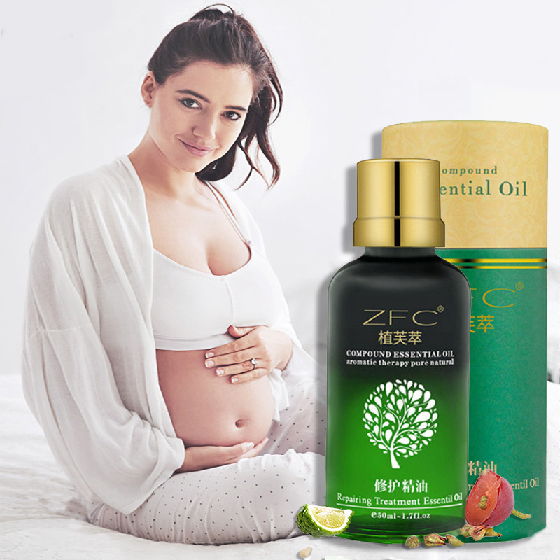 Pregnant Women Plant Extract Oil Stretch Marks Cream Serum Maternity Skin Repair Oil Scar Powerful For Maternity Body Repair Oil