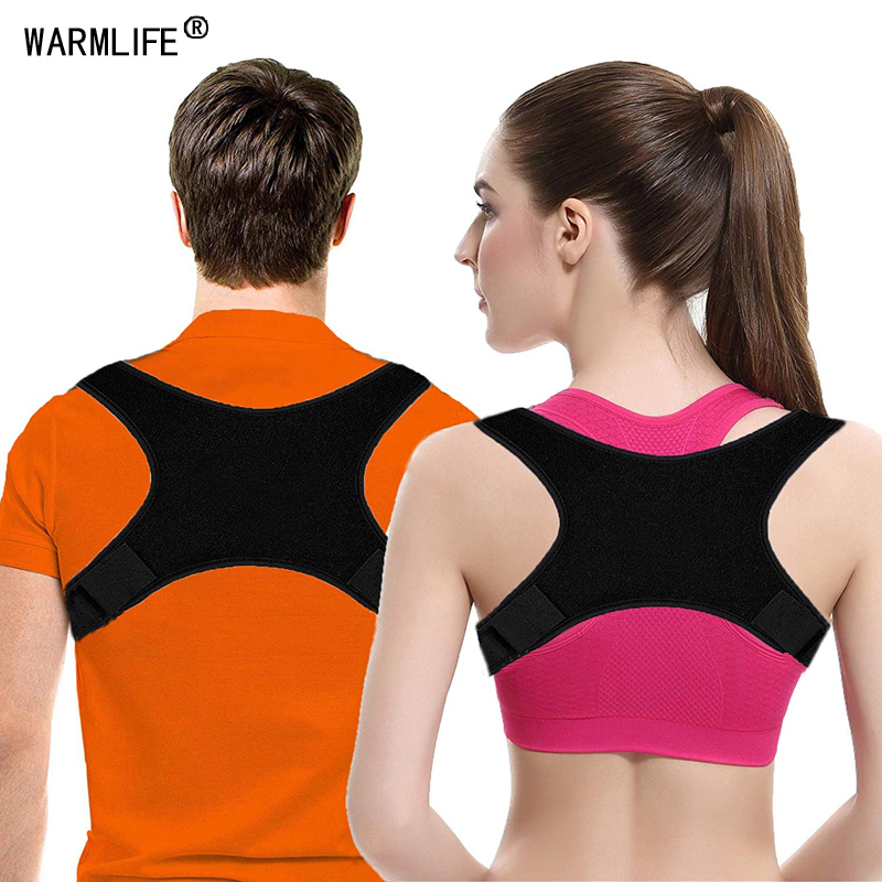 New Spine Posture Corrector Protection Back Shoulder Posture Corrector Correction Band Humpback Back Pain Relief Brace(China)