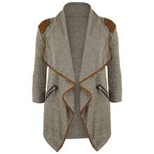 CELMIA Spring Autumn Women Casual Lapel Jackets Coats 2016 Fashion Women's Long Sleeve Zipper Pockets Cardigans Jacket Outwear