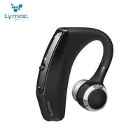 LYMOC V12 New Business Bluetooth Headset Wireless Earphones CSR4 1 1080P HD MIC Handsfree Headphone Noise