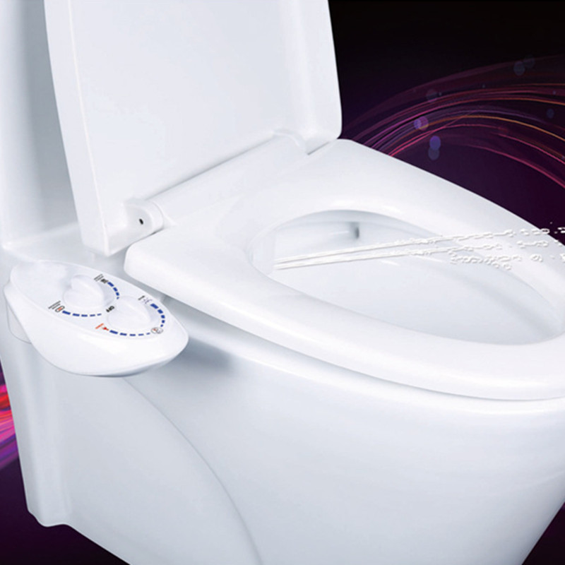 Hygiene Bidet Toilet Seat Attachment Hot and cold water