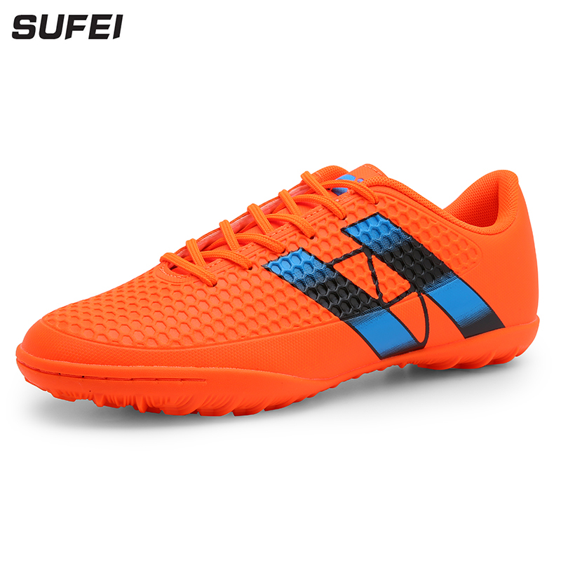 sufei New Arrival Soccer Shoes Professional Superfly Futsal Breathable Training Football Boots TF Cheap Soccer Cleats umbro football shoes men breathable rubber antiskid hg professional competition training football boots soccer shoes ucb90129