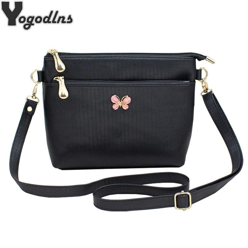 Fashion Women Handbag PU Leather Solid Color Messenger Bag Autumn Women Crossbody Shoulder Bags Female Bowknot Flap Bags Purse shoulder bag