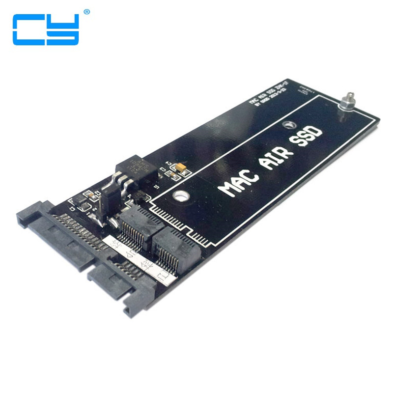 For MacBook Air SSD HDD to SATA 22Pin Hard Disk Cartridge Enclosure Drive PCBA adapter card sd memory card to ide 44 pin hard disk adapter creates a ssd solid state drive