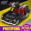 XingBao Block XB 03010 825Pcs Creative MOC Technic Series The Photpong Car Set Education Building Blocks