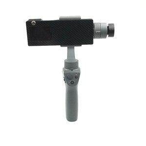 Image 4 - GoPro HERO 5/6/7 ยึดกล้อง Action Camera แผ่นคลิปผู้ถือ DJI OSMO MOBILE 1 2 Handhold Gimbal Stabilizer Access