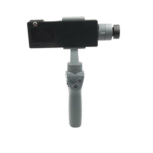 Image 4 - Gopro Hero 5/6/7 Action Camera Mount Bracket Plate Clip Adapter Holder To DJI OSMO Mobile 1 2 Handhold Gimbal Stablizer Access