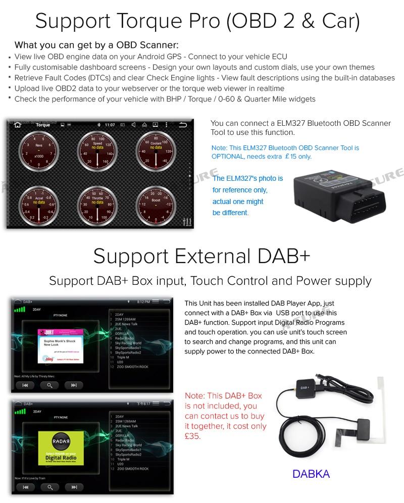 hight resolution of optional external equipment