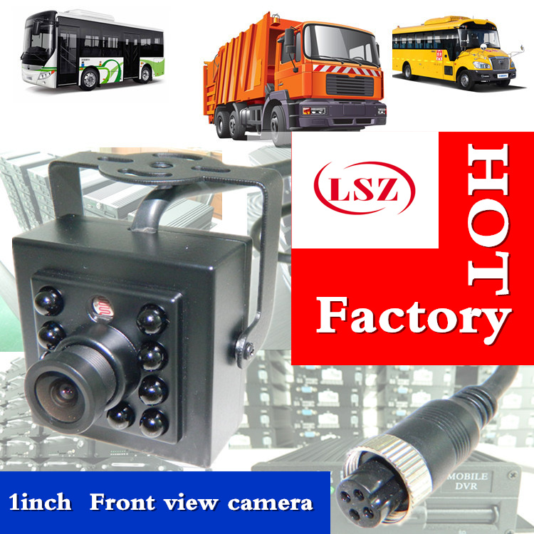 factory approved 1 inch square car camera, night vision, infrared high-definition sony/ahd720p/960p/1080p monitoring taxi probe factory direct batch] high definition car camera automobile infrared monitoring school bus waterproof shock
