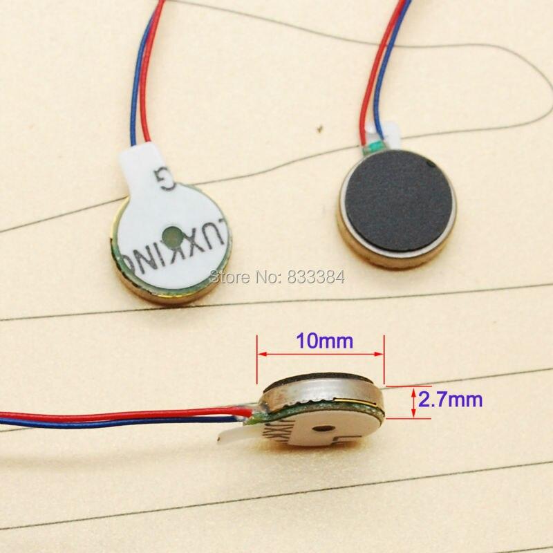 Small Size 10pcs Mini Coin Vibration Micro Motor