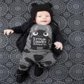 Para As Crianças Do Bebê Conjuntos de Roupas Meninos Meninas Se Adapte Primavera Outono novo Estilo Próximo Pequeno Monstro Pijama Homewear Roupas de Marca Quente vender