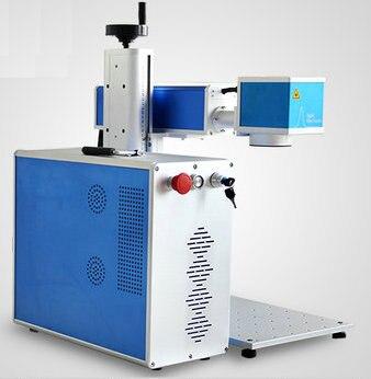 AC220V 10 Вт/20 Вт/30 Вт/50 Вт Сплит волоконно лазерной гравировки металла маркировочная машина неметаллических/металлический графика графический обработки