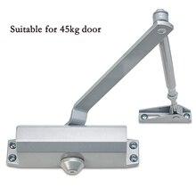 Дверные доводчики, буферные защитные двери, бытовые толкаемые для открытия и автоматическая скорость литья, автоматическая дверная фурнитура, 45 кг