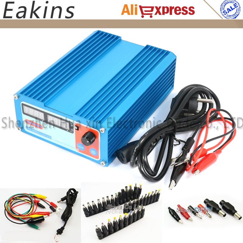 Free shipping Newest CPS -3205II precision Compact mini Digital Adjustable DC Power Supply 32V5A 110V-230V 0.01V/0.001A cps 3205 wholesale precision compact digital adjustable dc power supply ovp ocp otp low power 32v5a 110v 230v 0 01v 0 01a dhl